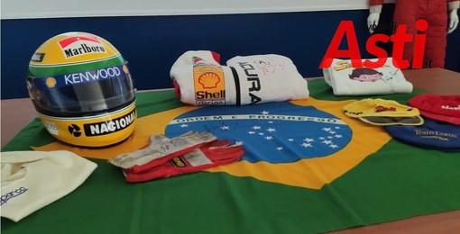 Ritrovato a Chivasso tutto il tesoro del pilota Ayrton Senna. Più di 300 gli oggetti rinvenuti