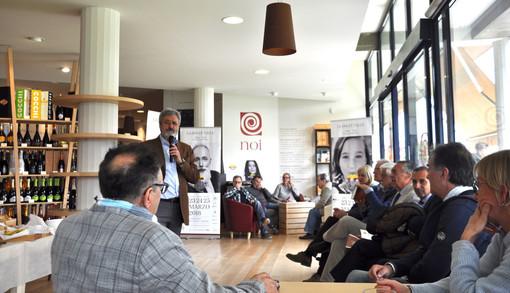L'incontro nella sede dei Vignaioli Piemontesi