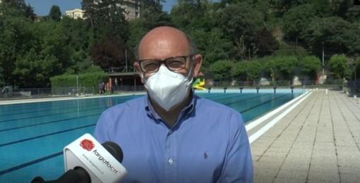 Luca Albonico, presidente di CSR e del Comitato Regionale FIN Piemonte e Valle d'Aosta