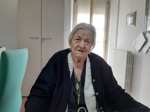 La storia dei 101 anni di nonna Severina, tra Piemonte e Liguria, passa anche da Asti