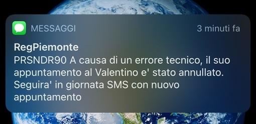 """""""Il suo appuntamento è stato annullato"""", centinaia di sms ai piemontesi: è caos open days al Valentino"""