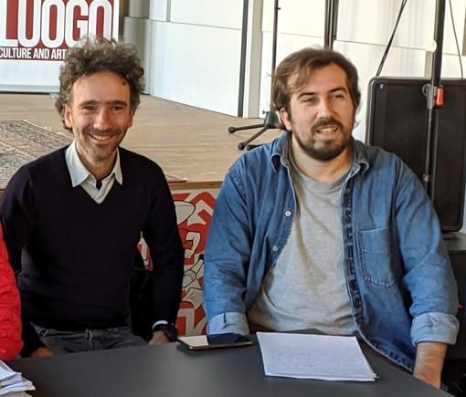 Michele Anselmo, qui con Mauro Bosia