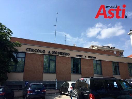 """Domani si inaugura la nuova """"era"""" del circolo Nosenzo di Asti, andato all'asta e rilevato da tre società"""