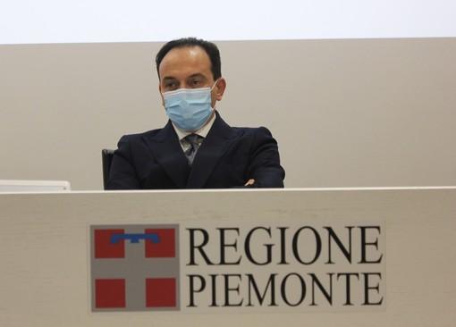Alberto Cirio, in Regione. Presto zona gialla?