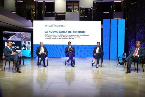 Intesa Sanpaolo, dopo l'integrazione di Ubi, da Banca dei territori 20 miliardi erogati in 5 mesi