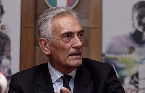 Il presidente Gravina