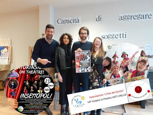 """La comicità aiuta a riflettere. Genitorinsieme on the theatre presenta """"Insettopoli"""""""