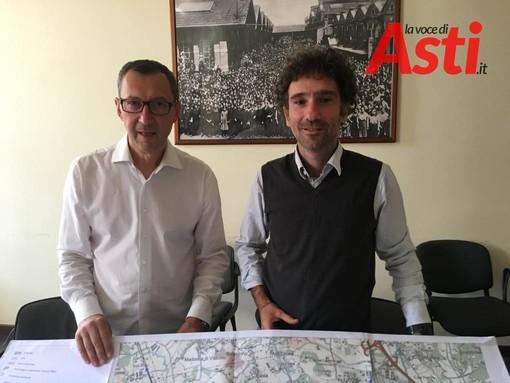 Beppe Passarino e Michele Anselmo in una foto d'archivio