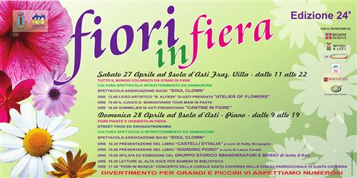 Fiori 24 Ore Torino.La Primavera E Ad Isola D Asti Torna Fiori In Fiera Il 27 E 28