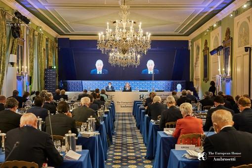 La scorsa edizione del Forum Ambrosetti, già in edizione phygital