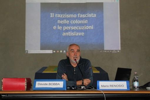 Il direttore dell'Israt, Mario Renosio, in un precedente incontro