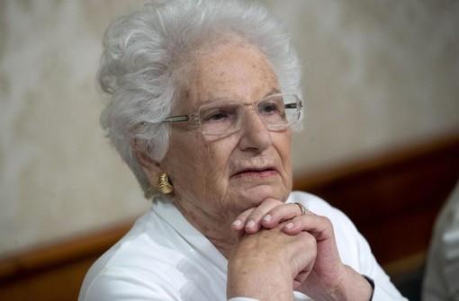 A Liliana Segre il sigillo del Piemonte, in occasione della Giornata della Memoria