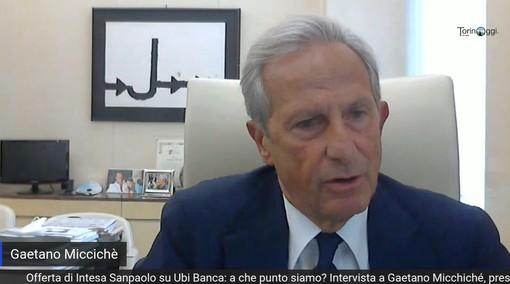 """Intesa Sanpaolo - Ubi Banca, Gaetano Miccichè: """"Fiducioso sulla riuscita dell'operazione, ma anche sulla sua utilità"""" [VIDEOINTERVISTA]"""