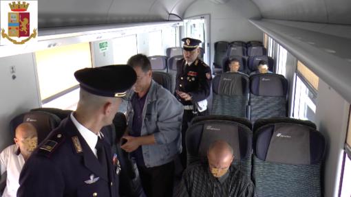 Il bilancio del primo semestre 2019 della Polfer: più di mille i servizi, 32 arresti e oltre 6300 treni scortati