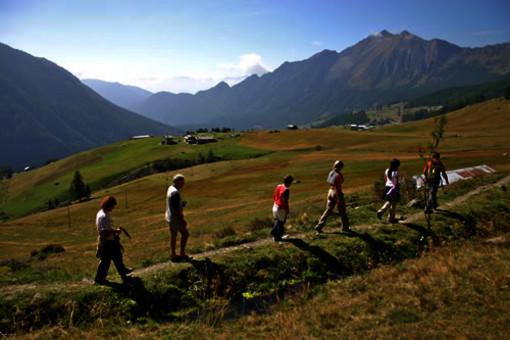 Il Piemonte vince il Premio Go Slow per la sua rete di itinerari escursionistici