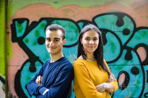 Lorenzo Giaretto e Chiara Della Mercede, autori del libro che verrà presentato il 24 settembre
