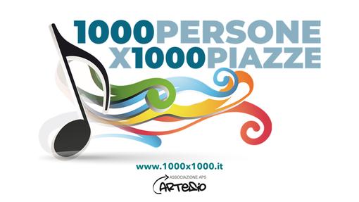 """""""1000 Persone X 1000 Piazze"""": in soli 2 mesi, già più di 250 eventi in tutta Italia promossi online attraverso il nuovo portale ed una utenza di 1.180.000 persone nelle località raggiunte dal Progetto"""