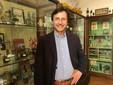 Massimo Tomalino al M.A.G.M.A.X e con un esemplare di gesso; panorama dalla Torre Quartero.