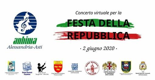 Anche tre bande musicali astigiane parteciperanno ad un concerto 'virtuale' per la Festa della Repubblica