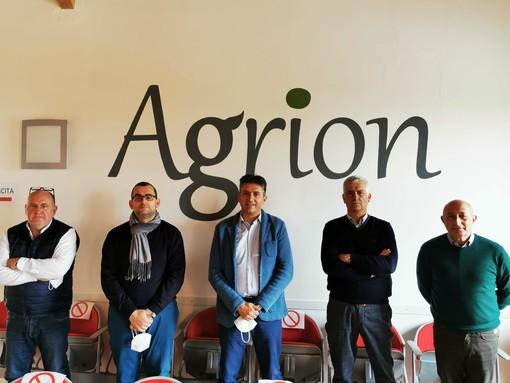 Foto del nuovo consiglio di amministrazione Agrion
