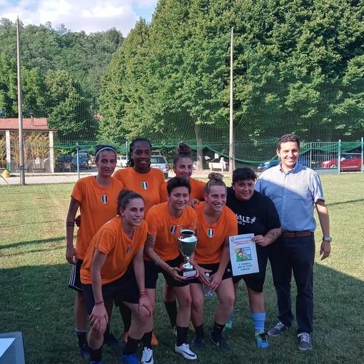 Calcio femminile, l'Alessandria vince la prima edizione del Torneo calcio a 5 a Castelnuovo Belbo
