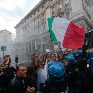 Gli scontri di Roma (Foto Gds.it)