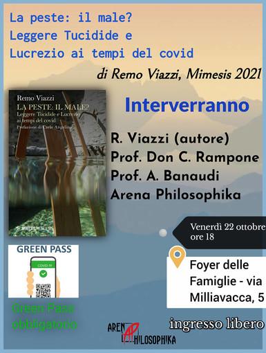 Venerdì e sabato due presentazioni di libri curate dal collettivo Arena Philosophika