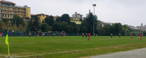 Un'immagine del match tratta dalla pagina Facebook del Moncalvo Calcio