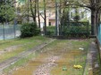 Sempre al Monte Rainero, anche il campo da bocce versa in pessiime condizioni