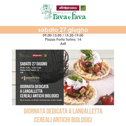 Asti, alla Rava e Fava di piazza Porta Torino una giornata dedicata a Langalletta di Santa Vittoria d'Alba