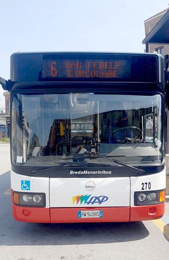 Da oggi i bus Asp della linea 6 anticiperanno l'orario di una corsa mattutina