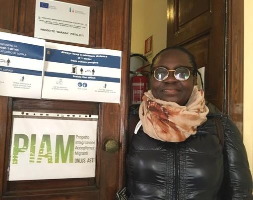 La mediatrice Fatima Issah