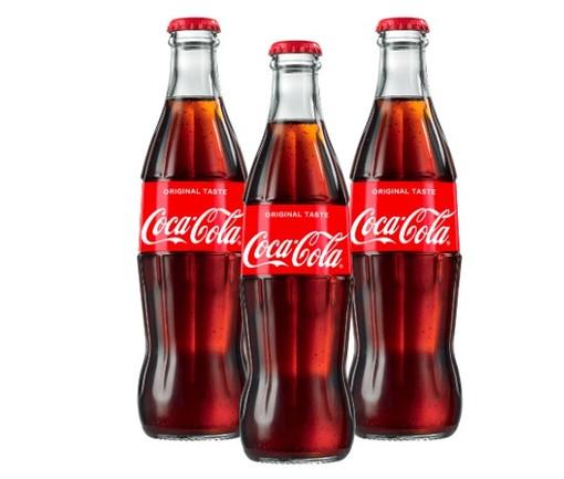 Bottiglie di Coca Cola Original Taste