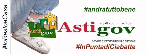 Tutti a casa e #InPuntadiCiabatte: al via il servizio d'intrattenimento online di Astigov (VIDEO)
