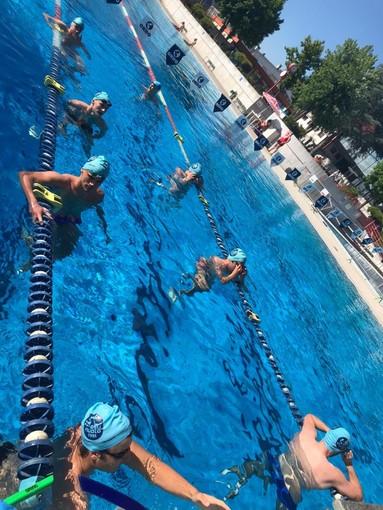 Ritorno in acqua per i componenti della prima squadra dell'Asti nuoto