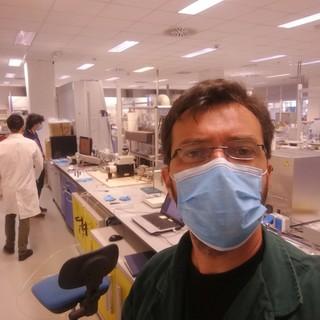 Il ricercatore astigiano Alessandro Chiolerio, capo del team di sviluppo Cogitor