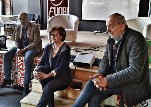 Da sinistra: Mario Malandrone, Anna Bosia e Beppe Rovera