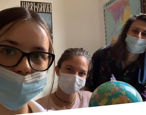 Al Cpia di Asti finisce l'anno di servizio civile per Ana, Irene e Susanna