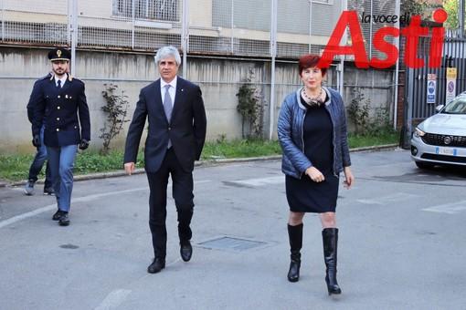 Il Questore di Asti, Alessandra Faranda Cordella, con il Prefetto Terribile. Tutte le foto di questo servizio sono state realizzate da MerfePhoto