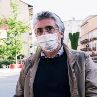 Il sindaco albese Carlo Bo (foto di Barbara Guazzone)