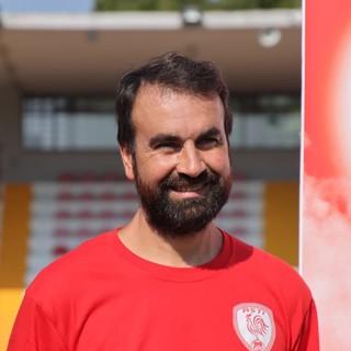 Davide Montanarelli, allenatore dell'Asti Calcio