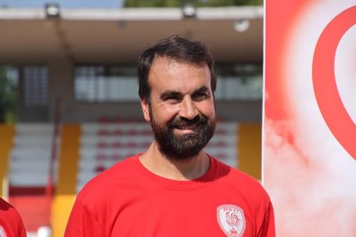 Davide Montanelli, allenatore dell'Asti
