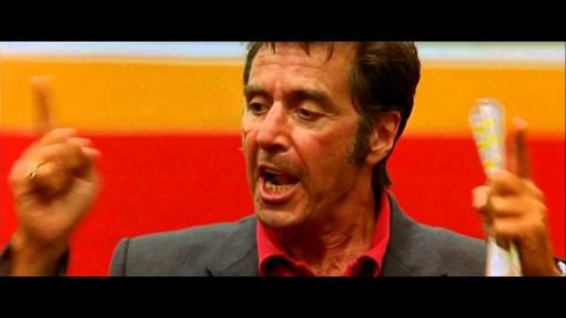 """Al Pacino motivatore nel film """"Ogni maledetta domenica"""""""