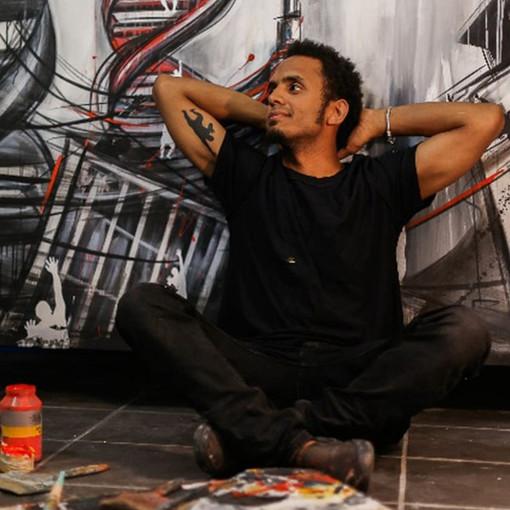 Street Art: a Settime l'artista Ascanio Cuba