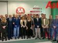 Foto di gruppo, risalente al gennaio scorso, in occasione della presentazione del rebranding