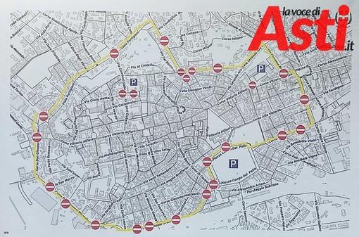 """Quest'oggi Asti chiude al traffico e fa una """"prova generale"""" per il Piano del Traffico"""