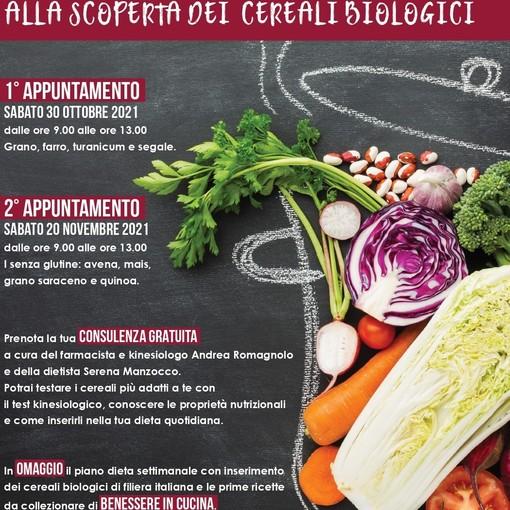 Al NaturaSì di piazza Torino, appuntamenti con 'Benessere in Cucina - Alla scoperta dei cereali biologici'