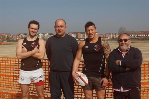 Dirigenti e atleti del Monferrato Rugby