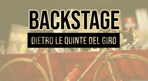 Martedì sera 'Backstage' vi racconterà tutti i retroscena della tappa astigiana del Giro d'Italia