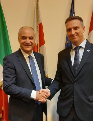 Giovanni Boccia con Emanuele Locci